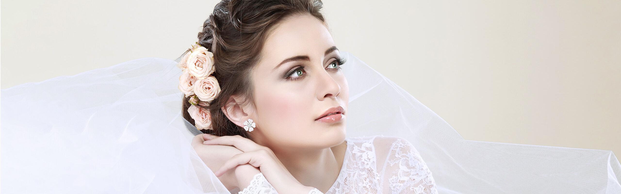 Ein perfektes Braut Make up für Ihren grossen Tag  Caroline